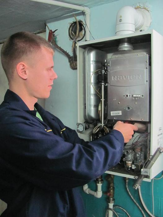 Демонтаж камеры сгорания, вентилятора, теплообменника ГВС и прочих узлов.