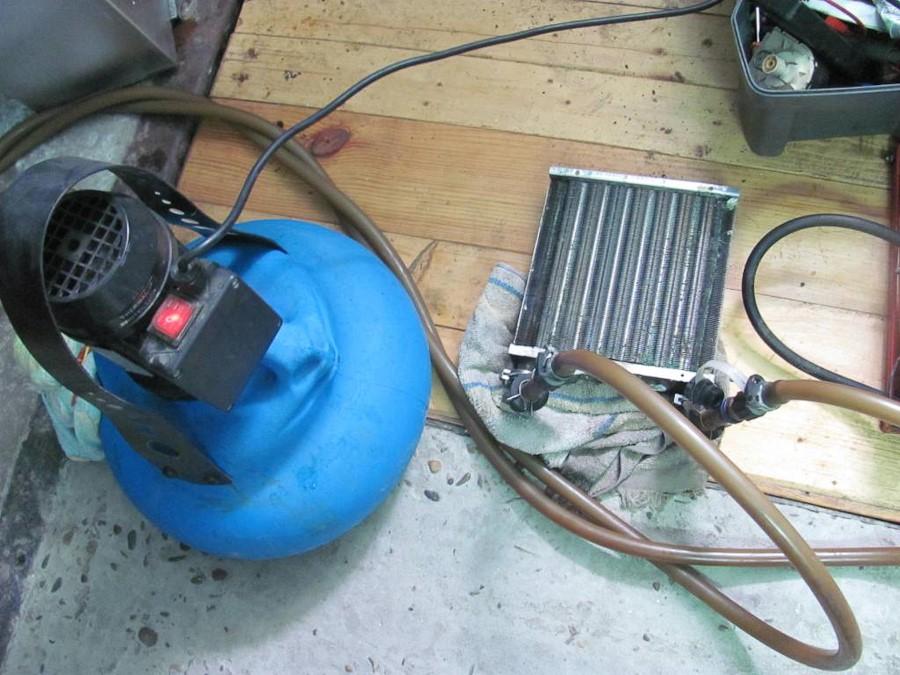 Промыть теплообменник газовой колонки своими руками 24