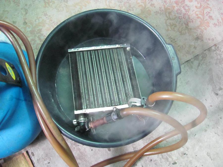 Теплообменник чем промыть обвязка парового теплообменника схема