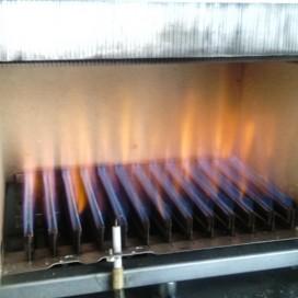 Осмотр камеры сгорания котлаAriston