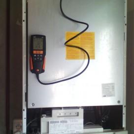 Настройка конденсационного котла погазоанализатору