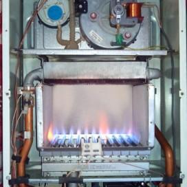 Осмотр камеры сгорания газовогокотла