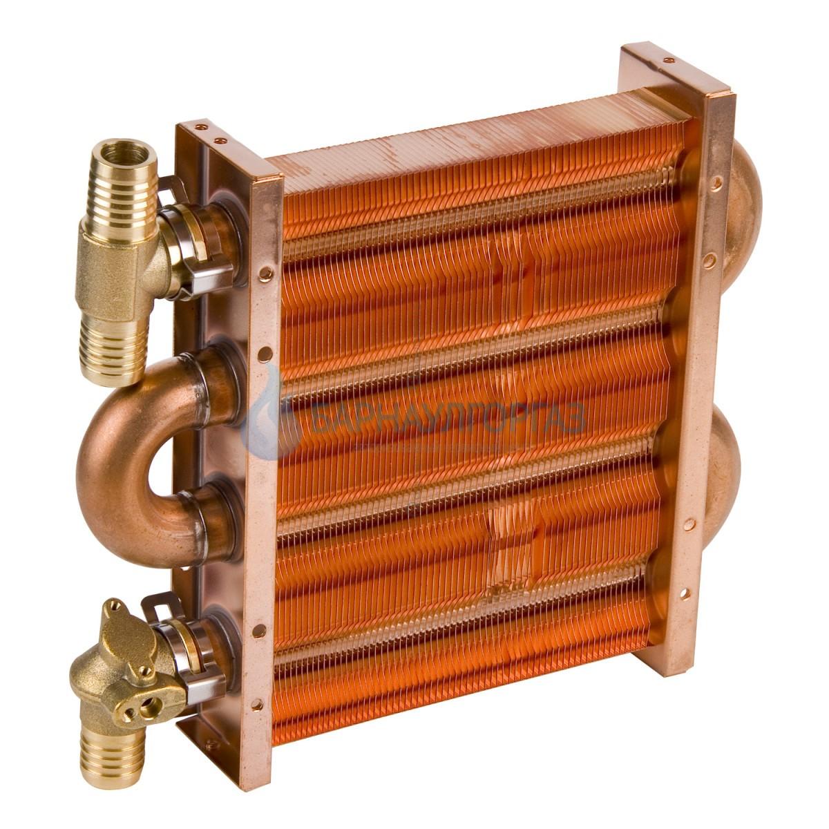 Теплообменник основной 67 FIN (100 SD, MSC, ICH) Daewoo и Hydrosta