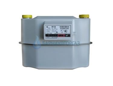 Счетчик газа ВК-G6Т (с термокорректором), межосевое расстояние 200/250 мм