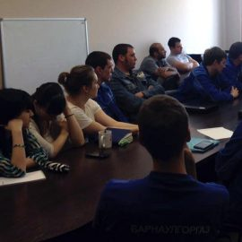 Сегодня у нас проходит семинар компании Beretta